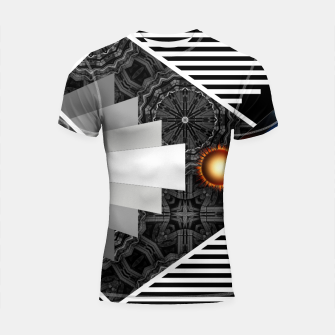 Thumbnail image of Wings Of Lightning Deco Mech Flare RLX3 Shortsleeve rashguard, Live Heroes