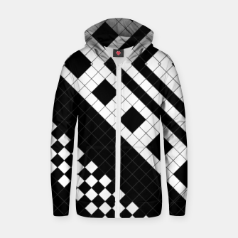 Thumbnail image of Subway Geometrix 2x2 RL90ZM Zip up hoodie, Live Heroes