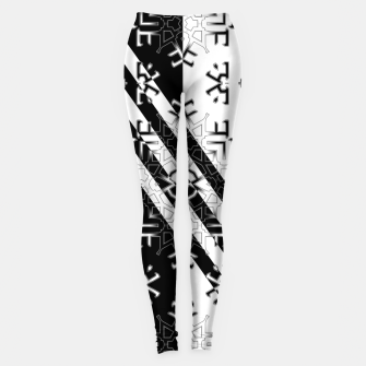 Thumbnail image of Ecode Stripe FL180 Leggings, Live Heroes