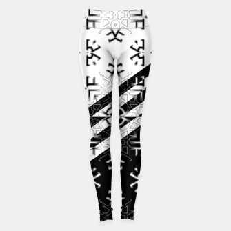 Thumbnail image of Ecode Stripe RLX3 Leggings, Live Heroes