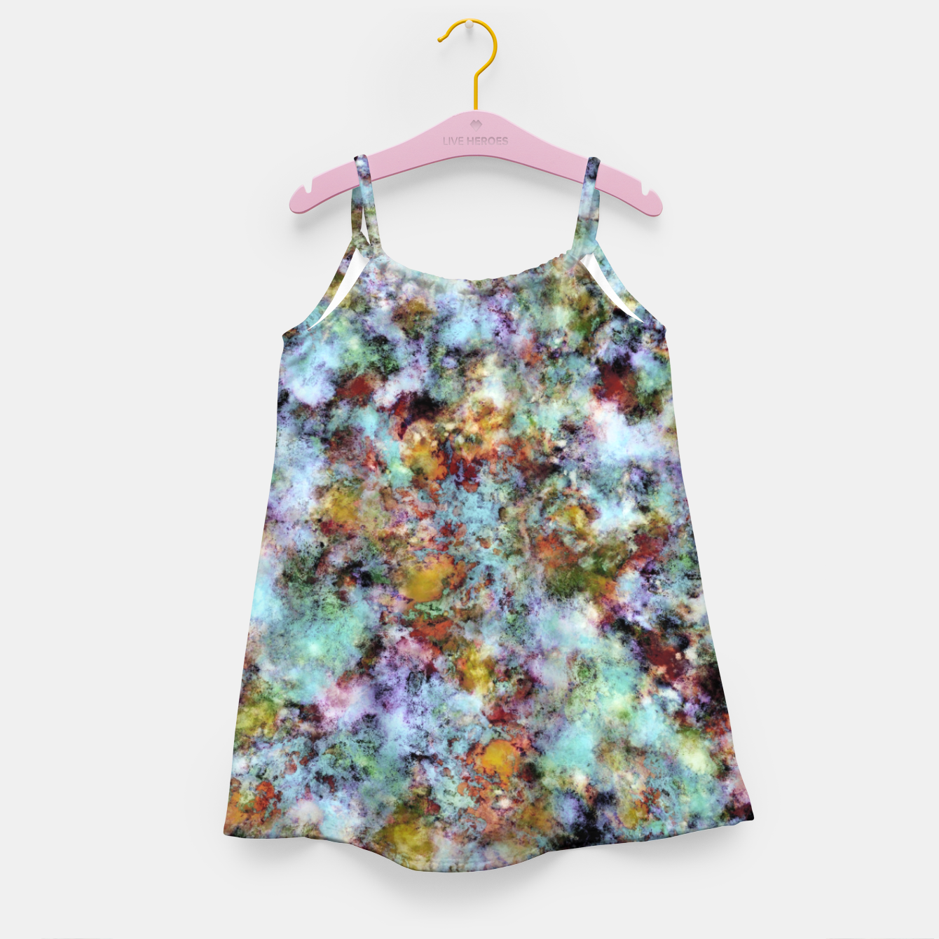Image of Almost in the clouds Girl's dress - Live Heroes