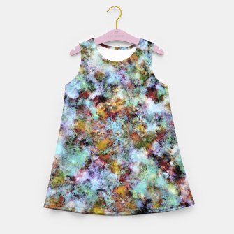 Miniatur Almost in the clouds Girl's summer dress, Live Heroes