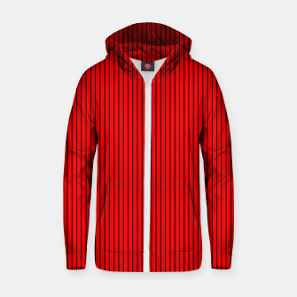 zappwaits-red  Zip up hoodie thumbnail image