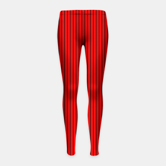 Thumbnail image of zappwaits-red  Girl's leggings, Live Heroes
