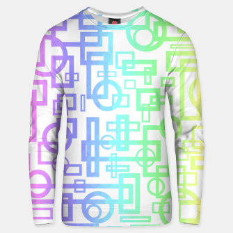 Miniaturka Abstract Layers Unisex sweater, Live Heroes