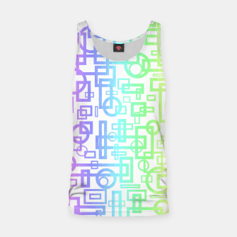 Miniature de image de Abstract Layers Tank Top, Live Heroes