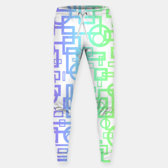 Miniatur Abstract Layers Sweatpants, Live Heroes
