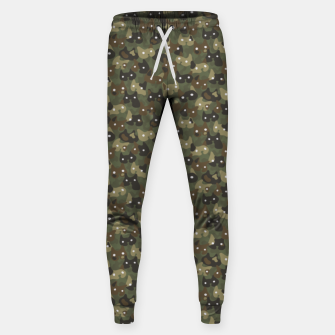 Miniature de image de Ghostly camouflaging cats are watching you in khaki Sweatpants, Live Heroes