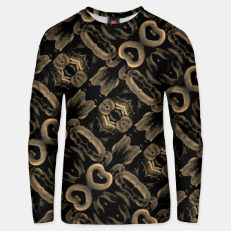 Thumbnail image of Modern Intricate Print Pattern Unisex sweater, Live Heroes