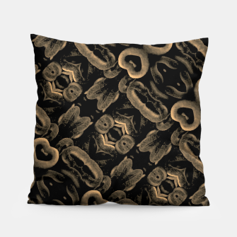 Thumbnail image of Modern Intricate Print Pattern Pillow, Live Heroes
