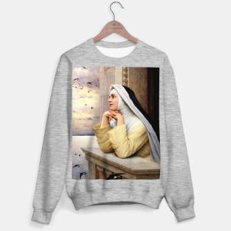 Thumbnail image of GOD's Creatures by Eugene de Blaas Classical Fine Art Reproduction Sweater regular, Live Heroes