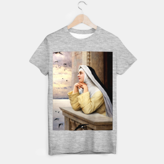 Thumbnail image of GOD's Creatures by Eugene de Blaas Classical Fine Art Reproduction T-shirt regular, Live Heroes