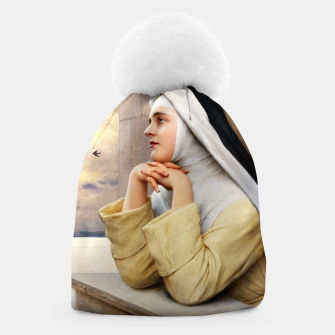 Thumbnail image of GOD's Creatures by Eugene de Blaas Classical Fine Art Reproduction Beanie, Live Heroes