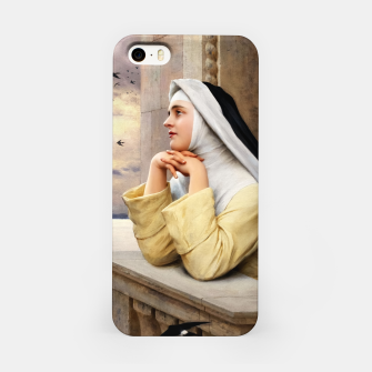 Thumbnail image of GOD's Creatures by Eugene de Blaas Classical Fine Art Reproduction iPhone Case, Live Heroes