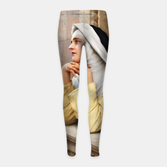 Thumbnail image of GOD's Creatures by Eugene de Blaas Classical Fine Art Reproduction Girl's leggings, Live Heroes