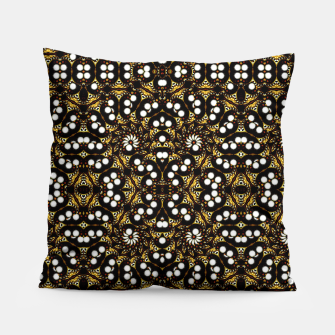 Thumbnail image of Modern Geometric Ornate Vector Pattern Pillow, Live Heroes