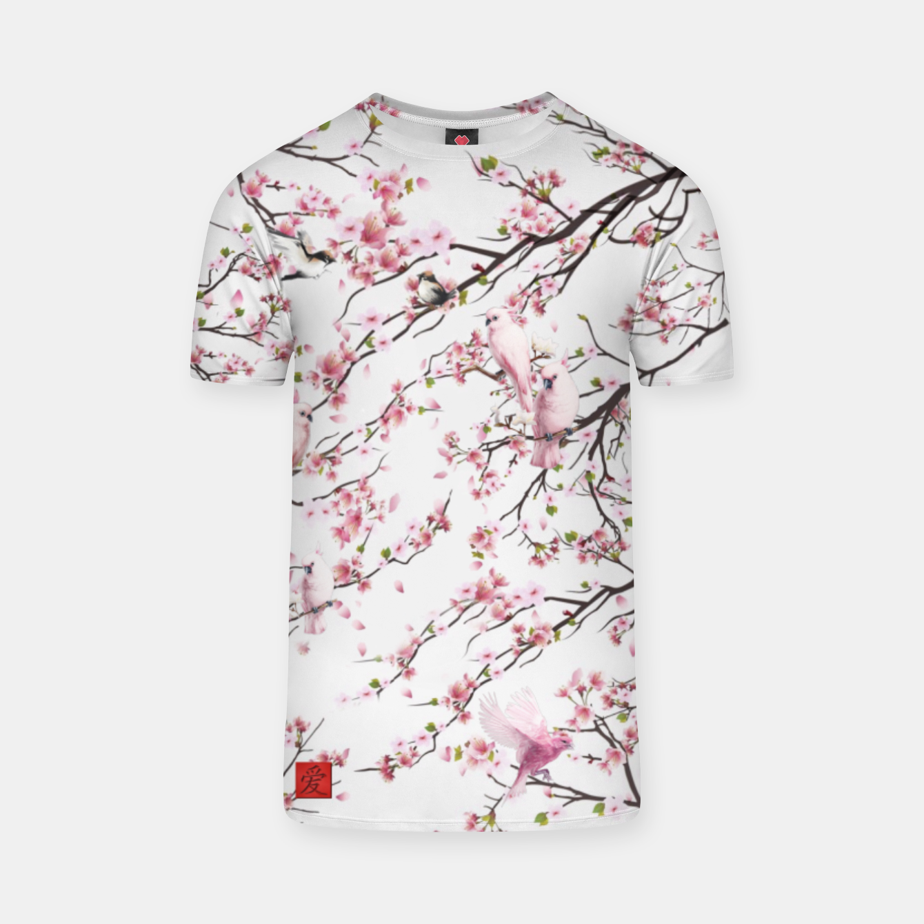 Image of almond tree bird  china style - Live Heroes