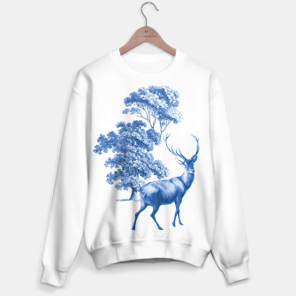 Thumbnail image of Blue Deer in Forest Sweater regular, Live Heroes