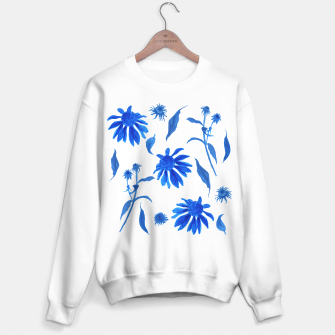 Thumbnail image of Echinacea Blue Ink Cone Flowers Sweater regular, Live Heroes