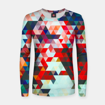 Thumbnail image of Geometrico Women sweater, Live Heroes