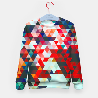 Thumbnail image of Geometrico Kid's sweater, Live Heroes