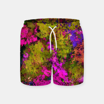 Thumbnail image of Cross section Swim Shorts, Live Heroes