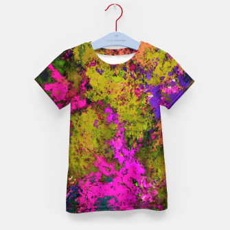 Thumbnail image of Cross section Kid's t-shirt, Live Heroes