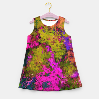 Thumbnail image of Cross section Girl's summer dress, Live Heroes