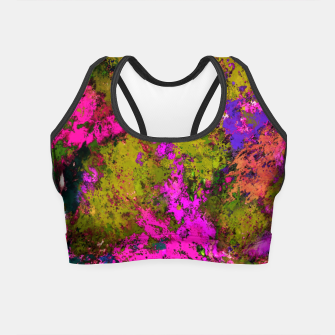 Thumbnail image of Cross section Crop Top, Live Heroes