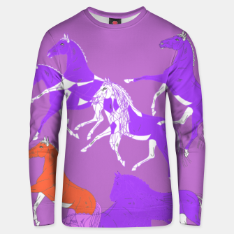 Thumbnail image of Violette horses Bluza unisex, Live Heroes