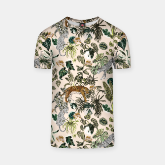 Thumbnail image of Wild animals in the lush jungle Camiseta, Live Heroes