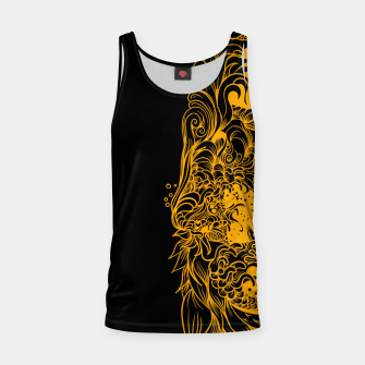 Thumbnail image of Yellow Wave Tank Top, Live Heroes