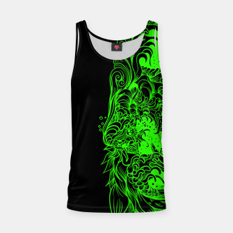 Thumbnail image of Green Wave Tank Top, Live Heroes