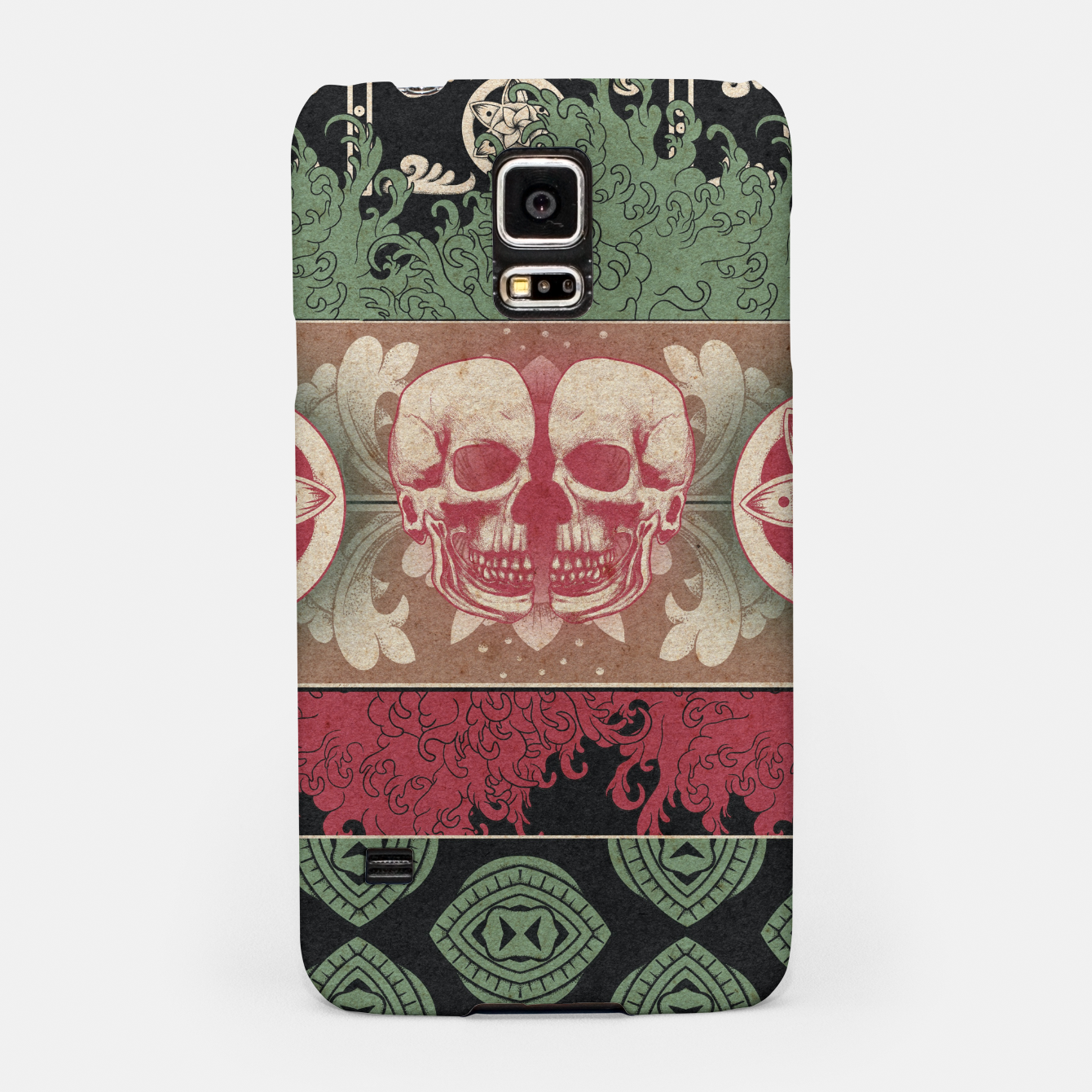 Zdjęcie Patterns and Skuls Samsung Case - Live Heroes