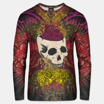 Thumbnail image of Brain on fire Unisex sweater, Live Heroes