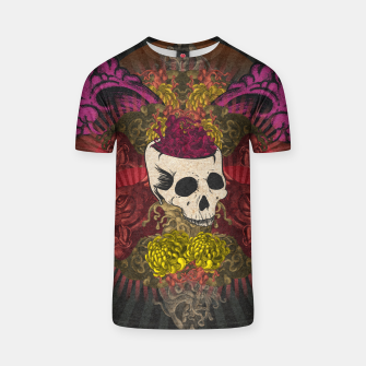 Thumbnail image of Brain on fire T-shirt, Live Heroes