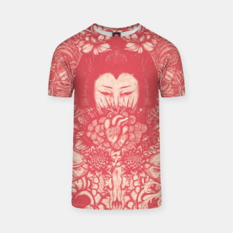Thumbnail image of Red Heart Beat T-shirt, Live Heroes