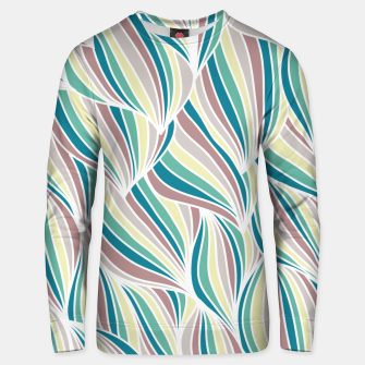 Miniatur Colorful Lines Vintage Vibes Pretty Abstract Art Retro Unisex sweater, Live Heroes