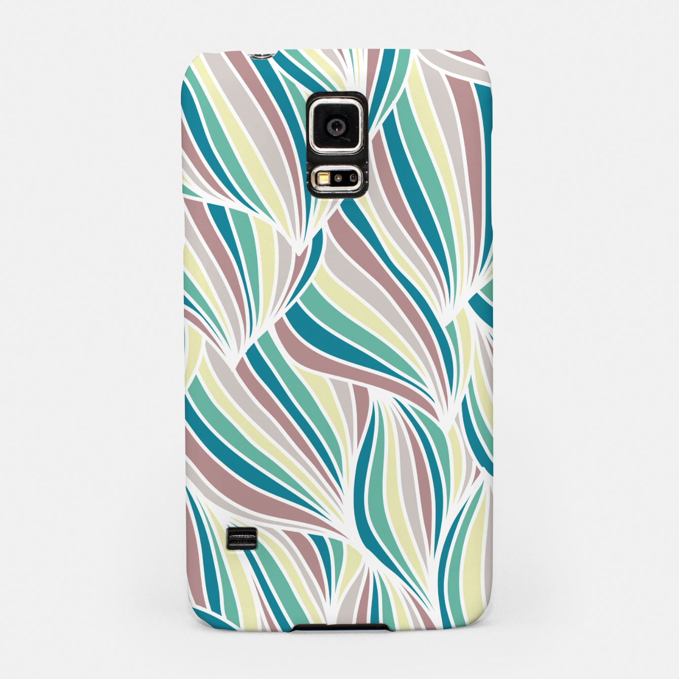 Zdjęcie Colorful Lines Vintage Vibes Pretty Abstract Art Retro Samsung Case - Live Heroes