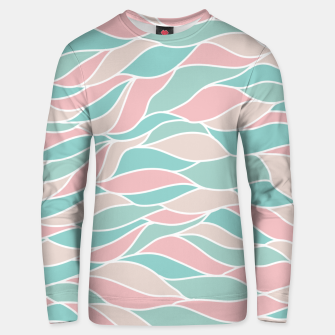 Thumbnail image of Girly Feminine Waves Pastel Colors Classy Abstract Art  Unisex sweater, Live Heroes
