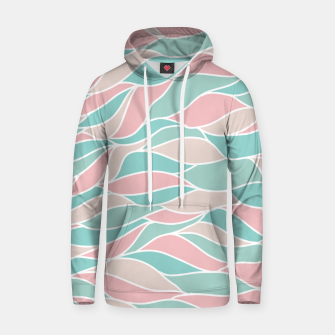 Thumbnail image of Girly Feminine Waves Pastel Colors Classy Abstract Art  Hoodie, Live Heroes