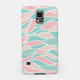Thumbnail image of Girly Feminine Waves Pastel Colors Classy Abstract Art  Samsung Case, Live Heroes