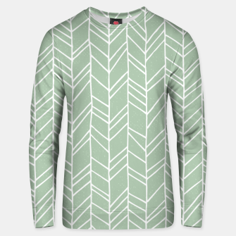 Thumbnail image of Geometric Abstract Figure Diagonal Vertical Lines Art Unisex sweater, Live Heroes