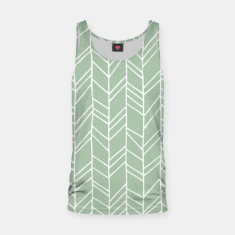 Geometric Abstract Figure Diagonal Vertical Lines Art Tank Top thumbnail image