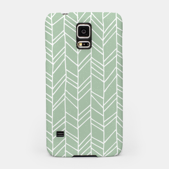 Miniature de image de Geometric Abstract Figure Diagonal Vertical Lines Art Samsung Case, Live Heroes