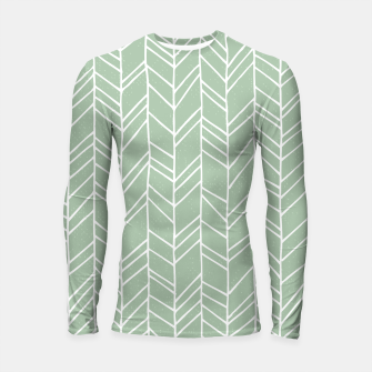 Geometric Abstract Figure Diagonal Vertical Lines Art Longsleeve rashguard  thumbnail image
