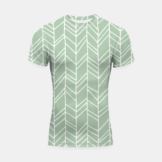Geometric Abstract Figure Diagonal Vertical Lines Art Shortsleeve rashguard thumbnail image