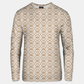 Miniature de image de Multiple White Circles Overlap Abstract Art Artist  Unisex sweater, Live Heroes