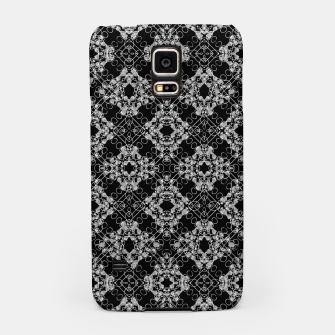 Thumbnail image of Black and White Checked Ornate Pattern Samsung Case, Live Heroes