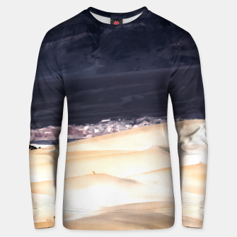 Thumbnail image of sand dunes at Death Valley national park, California, USA Unisex sweater, Live Heroes
